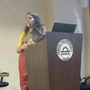 Explico session on 08/03/2017 by a young entrepreneur lady Ms Sayli Lad.
