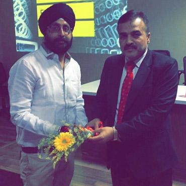 Explico session held on 22/03/2017 by Mr Sunjeet Singh Saluja