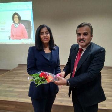 Explico session held on 29/03/2017 by Ms Jaspreet Kaur