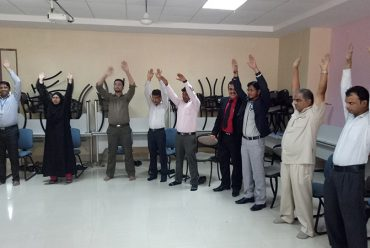 The International Yoga Day Celebration at OIM Vashi Campus