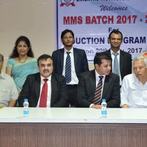 Induction program of MMS Batch 2017-19