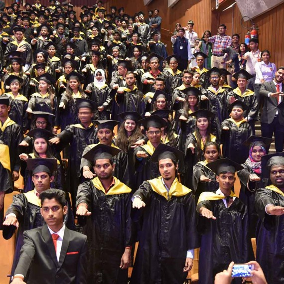 Convocation ceremony for batch 2015-17
