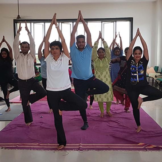 Yoga Day 21st June 2018